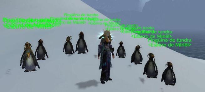 Una raid de pingüinos...